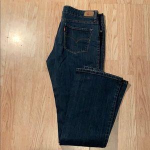 ⭐️ Levi's 553 Boot Cut Jeans Size 12L